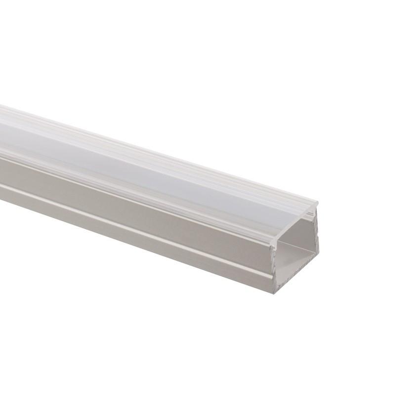 Perfil de Aluminio con Tapa Continua para Tiras LED RGB 220V AC a Medida
