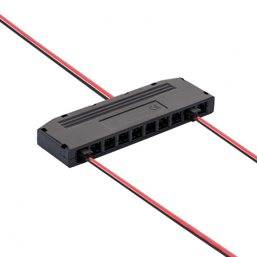 Conector distribuidor de 6-10 saídas para Fitas de LED Monocolor