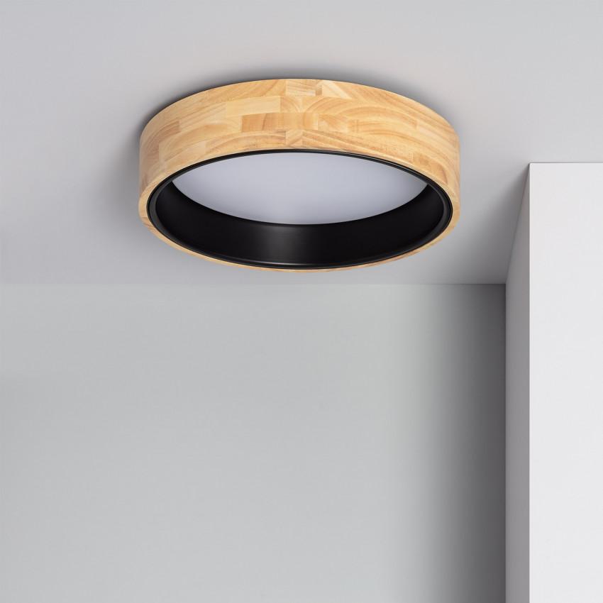 Plafon LED Circular CCT Dari 15W