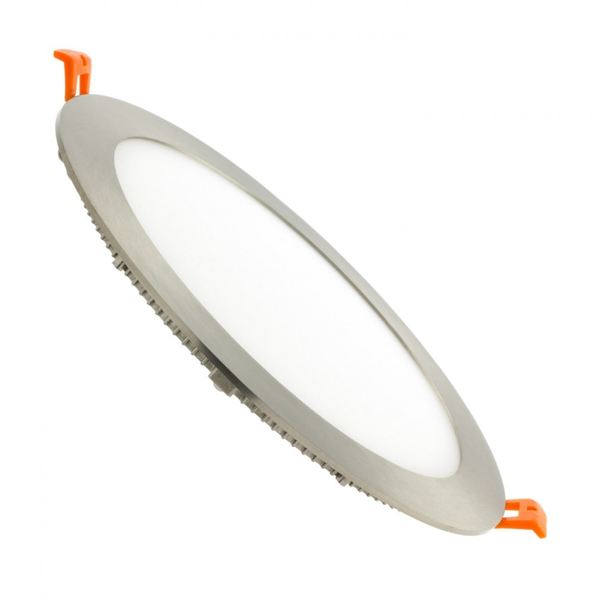 Placa LED Circular SuperSlim 18W LIFUD Silver Corte Ø 205 mm