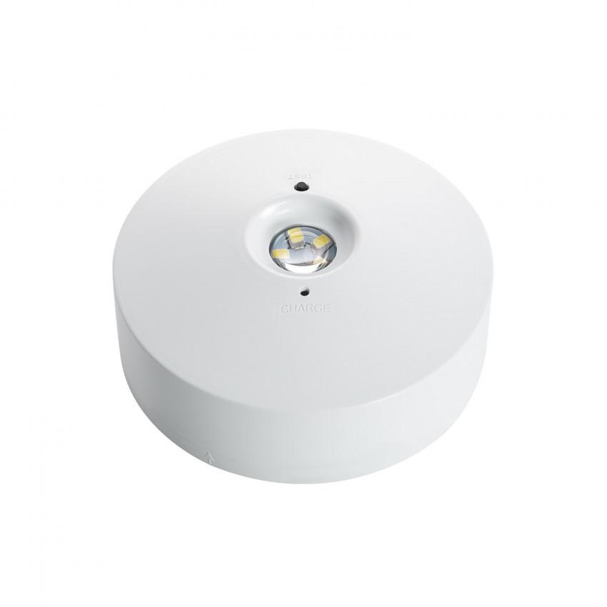 Luz de Emergência LED Superfície 2.5W