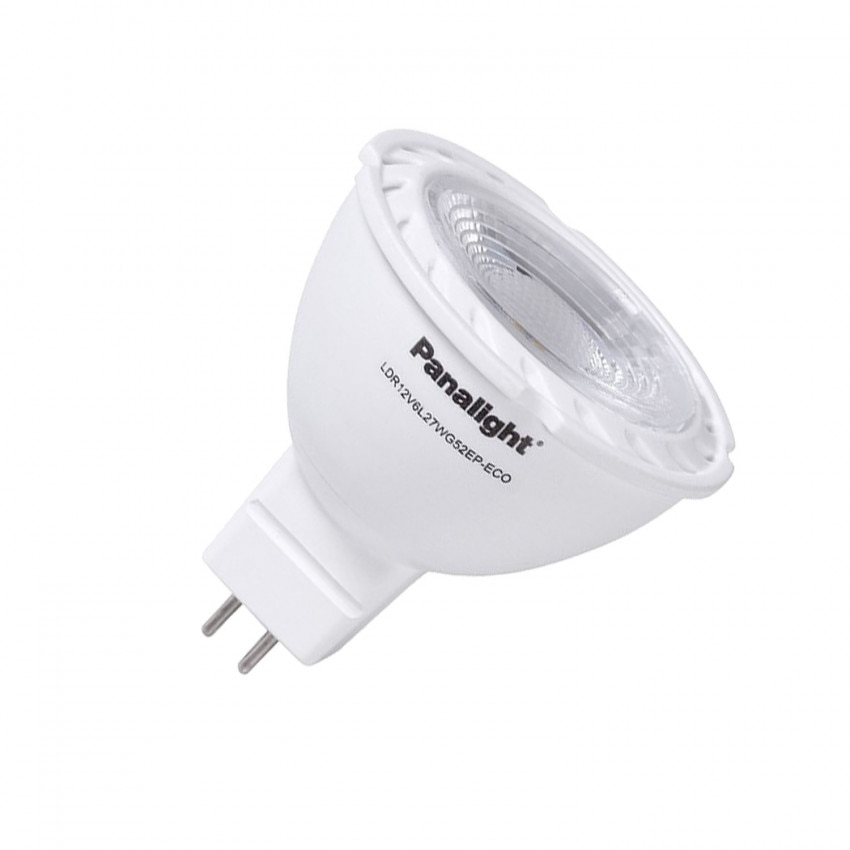 Lâmpada LED GU5.3 MR16 12V DC PANASONIC PS Dicróica 38 ° 5W