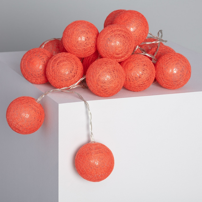 Grinalda 20 Bolas LED Sugar
