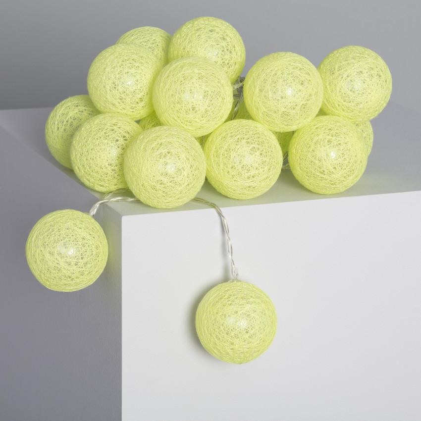 Guirnalda 20 Bolas LED Lemon 3.15m/4.35m