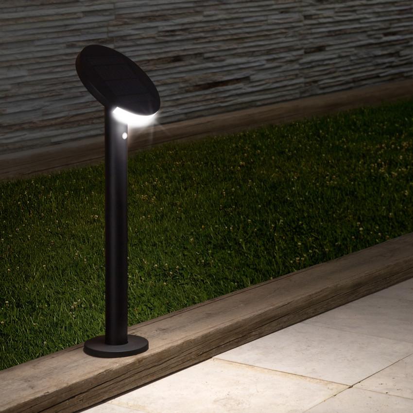 Baliza LED Solar Suez con Detector de Movimiento PIR IP65 80cm