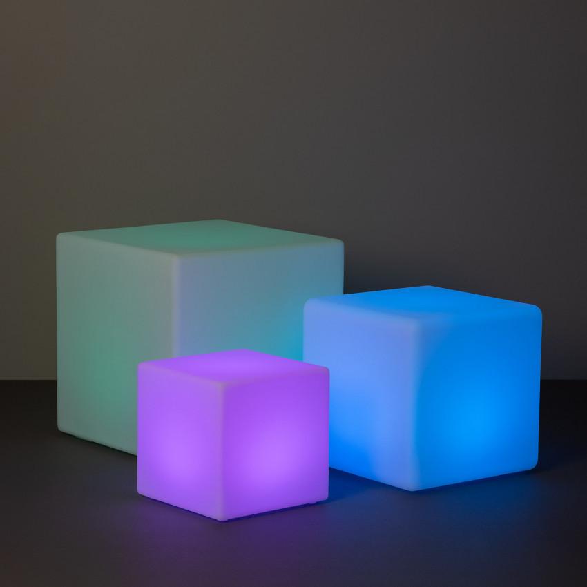 Cubo de LED RGBW Recarregável