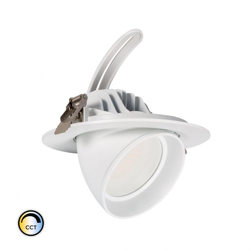 Foco Proyector Direccionable Circular LED 38W SAMSUNG 125 lm/W CCT Regulable LIFUD