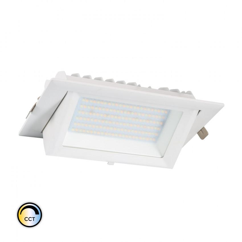 Foco Proyector Direccionable Rectangular LED 38W SAMSUNG 130 lm/W CCT Seleccionable LIFUD Regulable