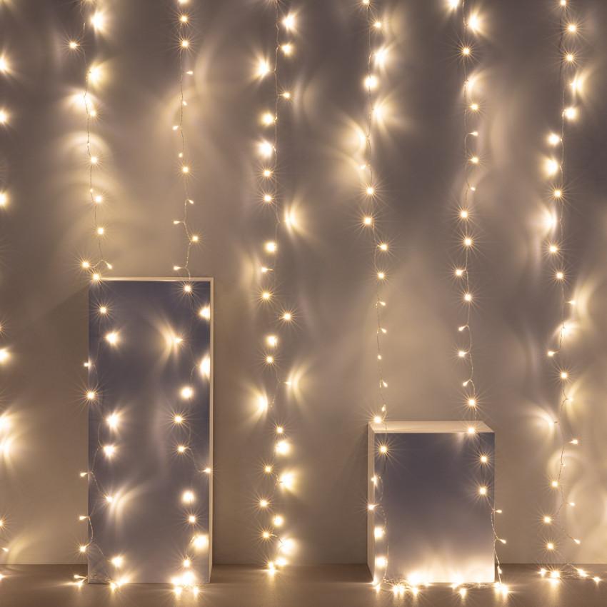 Cortina de Guirnaldas LED 2.6m