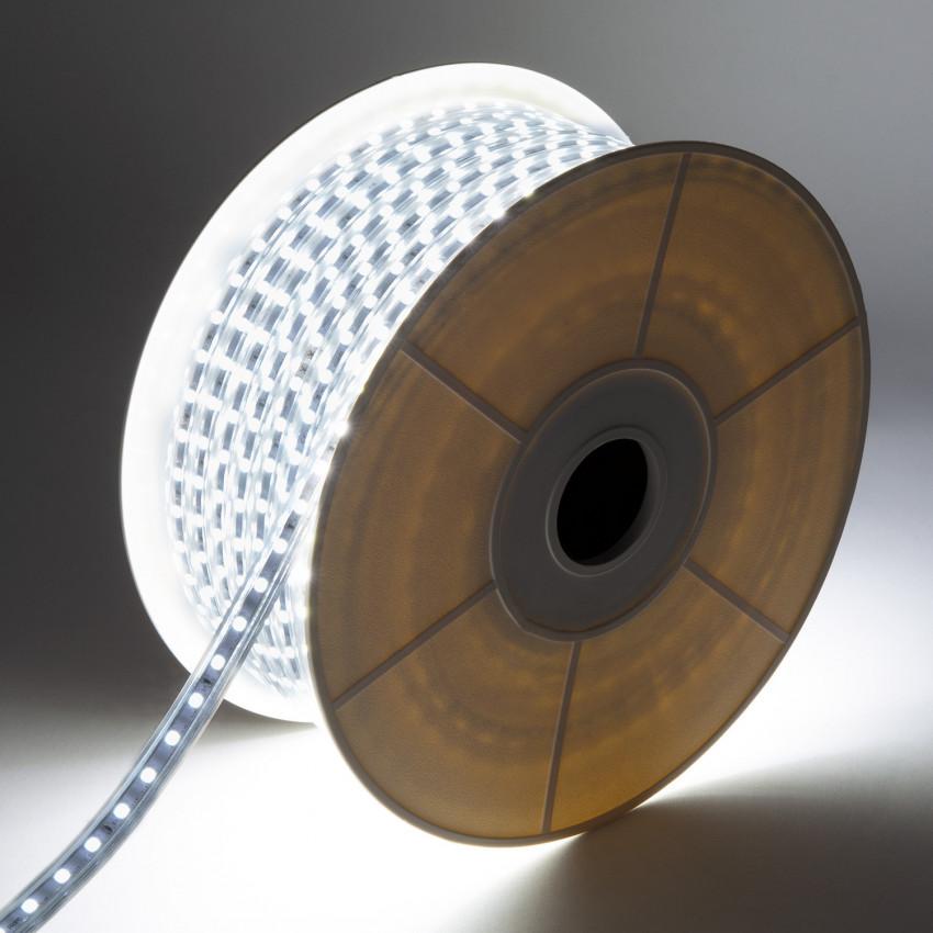 Bobina de Tira LED 220V AC 120 LED/m Blanco Frío IP65 Corte cada 50 cm