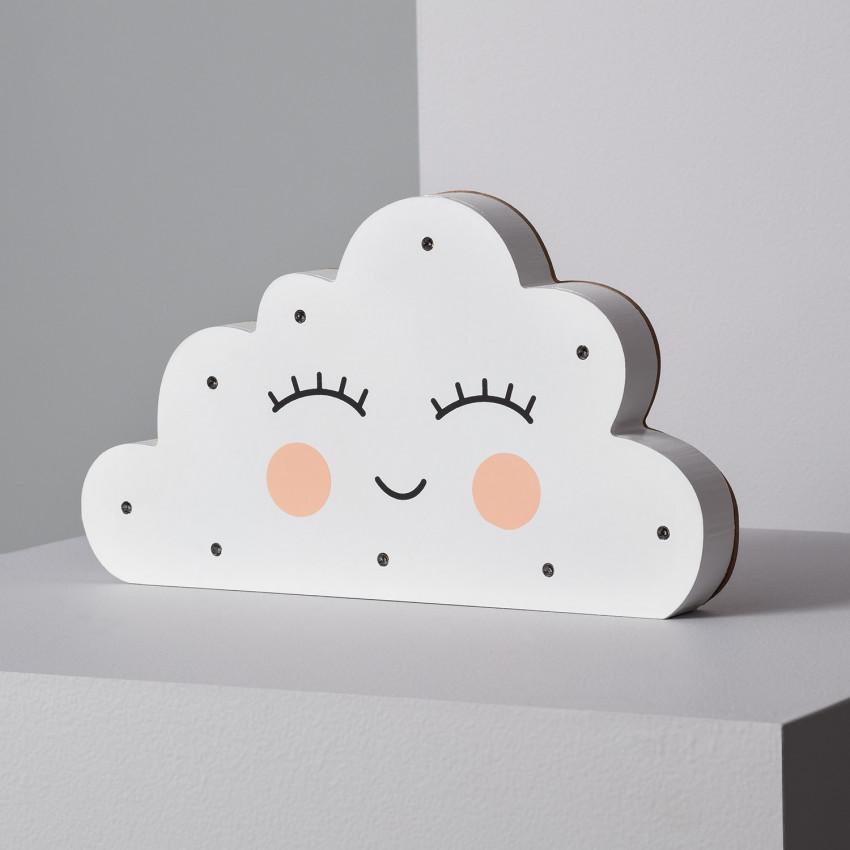 Luz LED de Mesa Infantil Nuvem