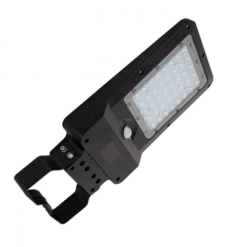 Luminaria LED 10W Solar con Sensor de Movimiento y Crepuscular