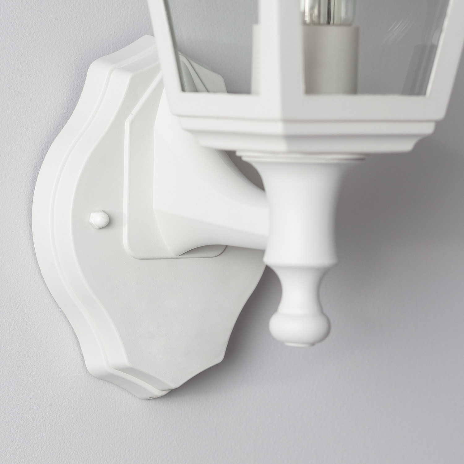 Aplique Mini Villa Brazo Superior E27 Blanco