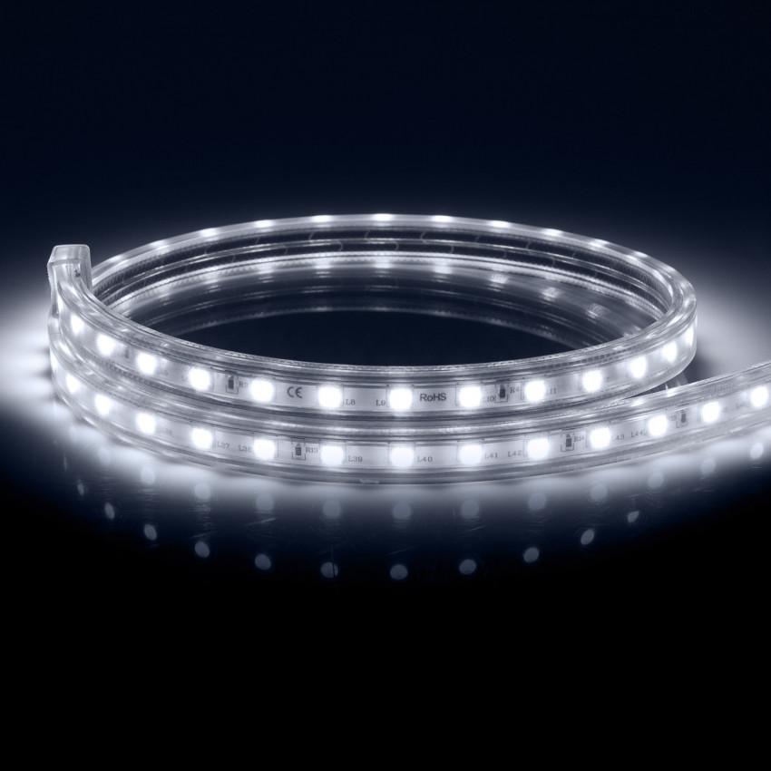Fita LED Regulável 220V AC 60 LED/m Branco Frio IP65 à Medida
