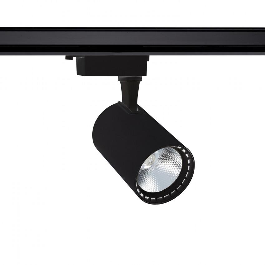 Foco LED Bron Preto 30W para Carril Monofásico