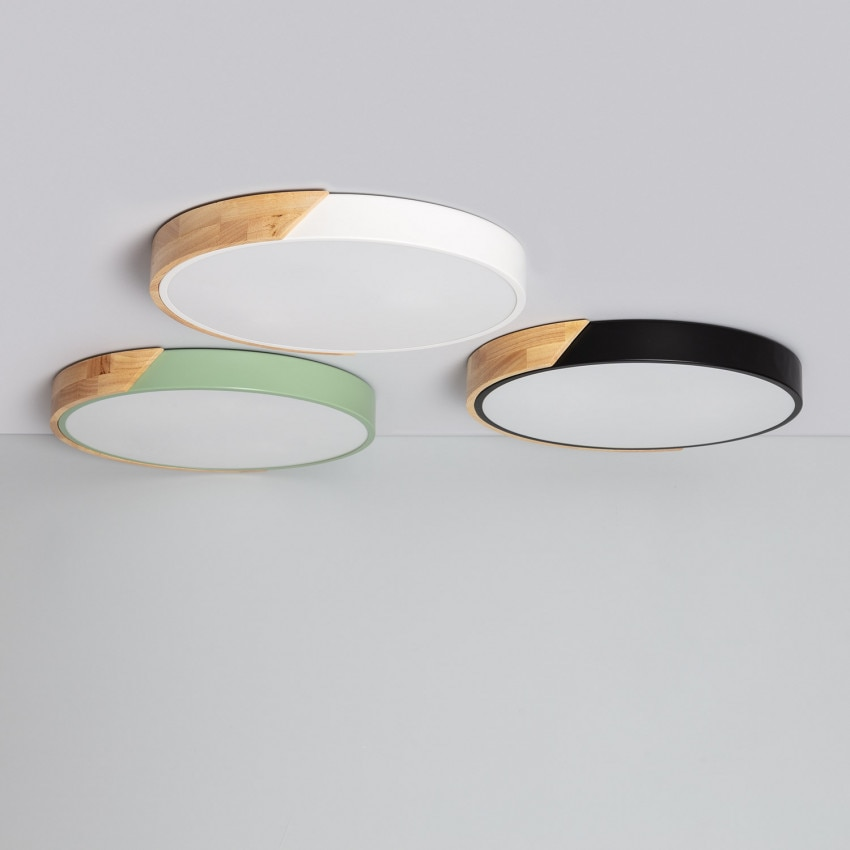 Plafón LED Circular CCT Semi-Dari 24W