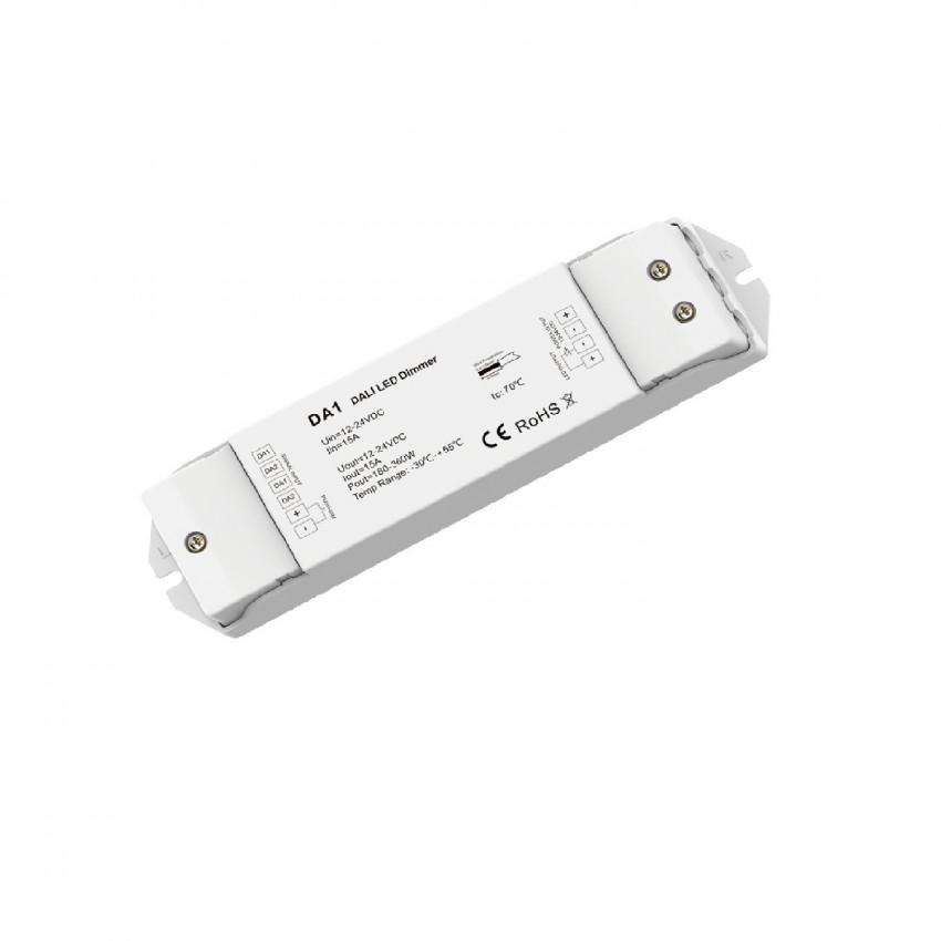 Driver Regulable DALI para Tira LED Monocolor Compatible con Pulsador