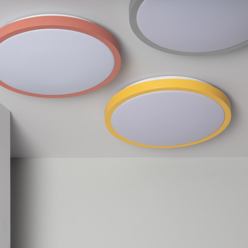 Plafón LED Circular CCT Faina 19W
