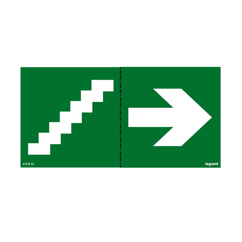 Etiqueta de Señalización Escaleras LEGRAND 661672
