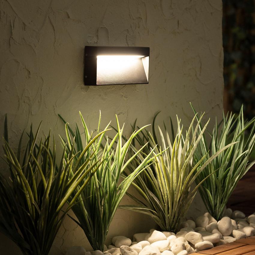 Baliza LED de Superficie Columbia 6W Negro