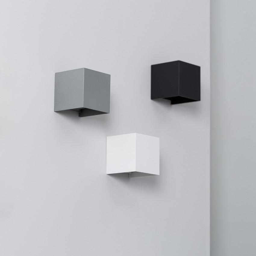 Aplique LED Eros 6W Branco Iluminação Dupla