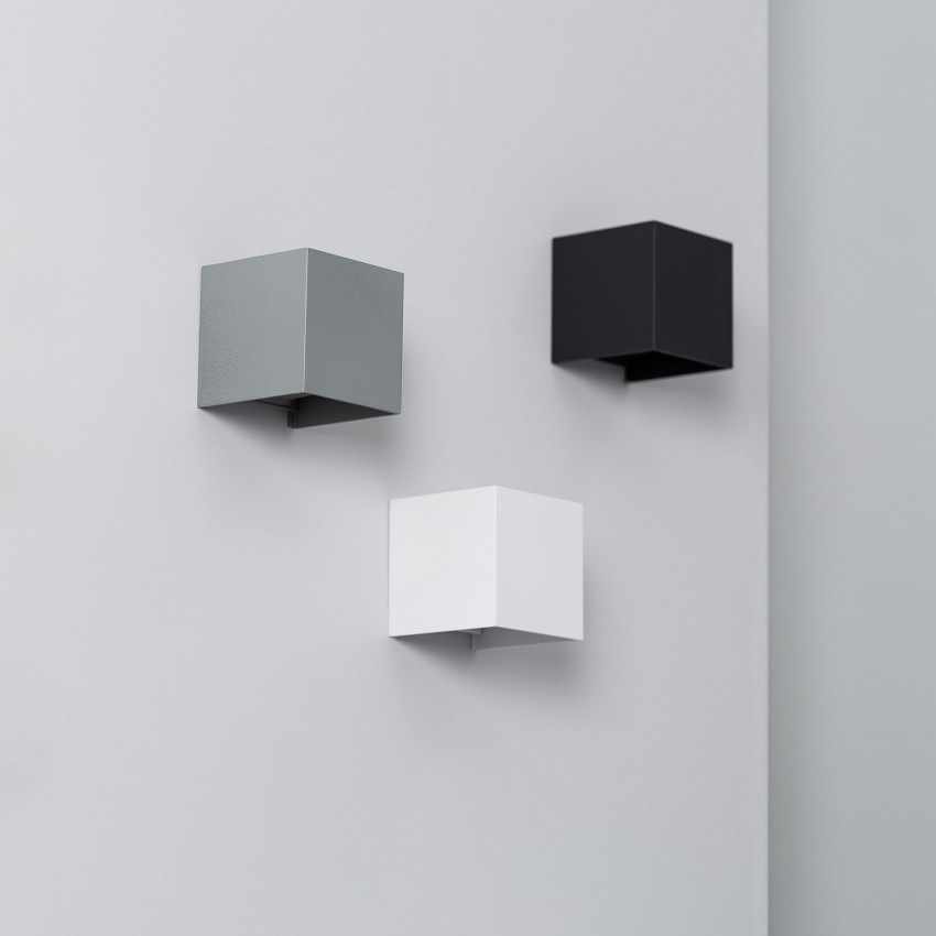Aplique LED Eros 6W Blanco Iluminación Doble Cara
