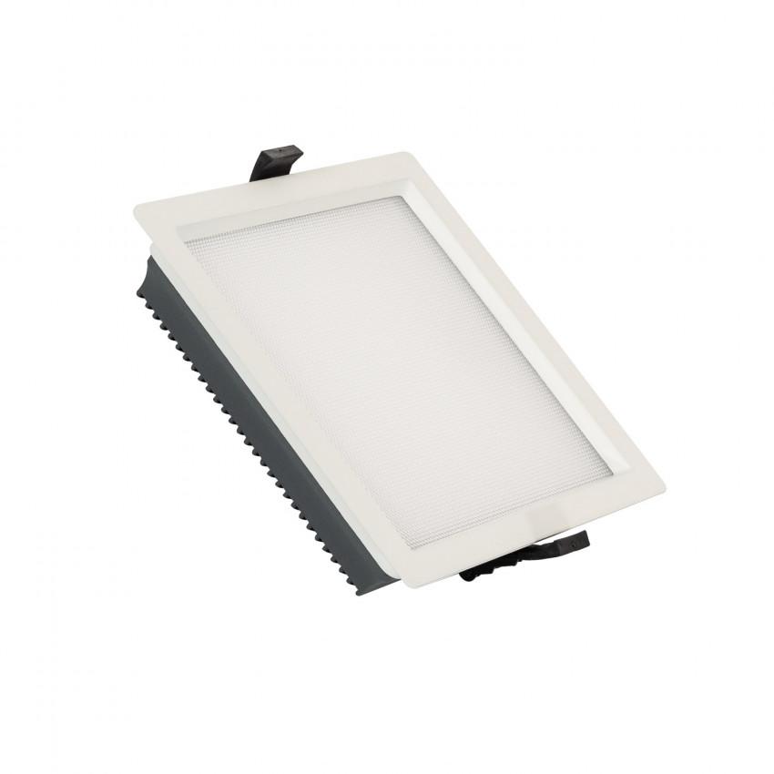 Downlight LED 25W SAMSUNG New Aero Slim Quadrado 130 lm/W (UGR17) LIFUD Corte 165x165 mm
