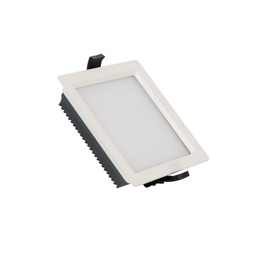 Downlight LED 15W SAMSUNG New Aero Slim Cuadrado 130 lm/W (UGR17) LIFUD Corte 135x135 mm