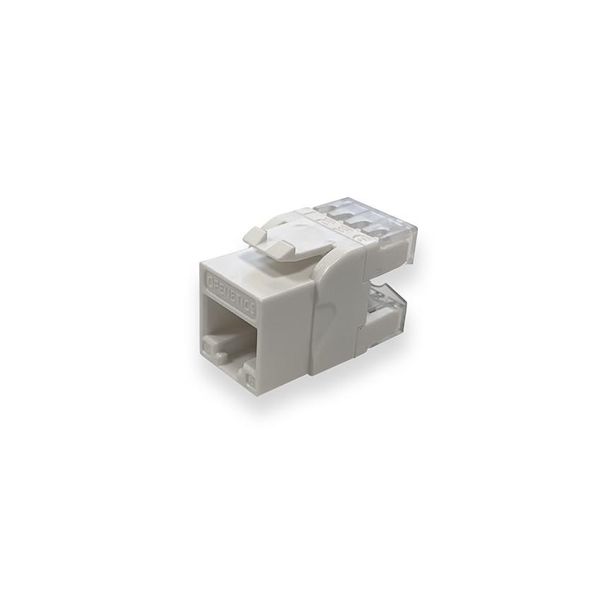 Conector Slim Hembra RJ45 UTP CAT.6 180º OPENETICS 5847