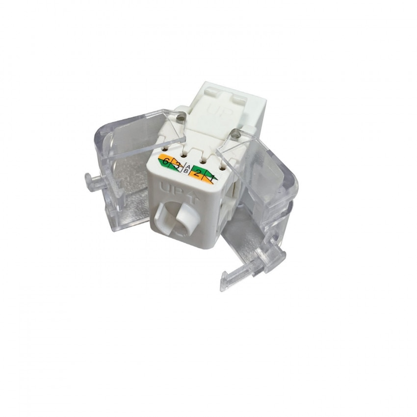 Conector Slim Hembra RJ45 UTP CAT.6 tool-less OPENETICS 5822