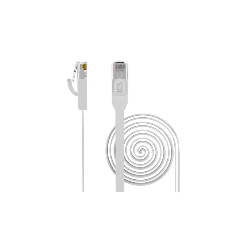 Cable de Red U/UTP FLAT Patch Ethernet RJ45 CAT.6 OPENETICS 67400 Latiguillo de 0.5m hasta 5m