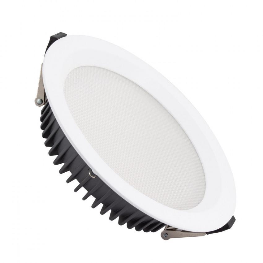 Downlight LED 40W SAMSUNG New Aero Slim 130 lm/W (UGR17) LIFUD Corte Ø 200 mm