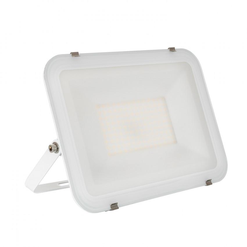 Foco Proyector LED 100W 120lm/W Slim Cristal Blanco