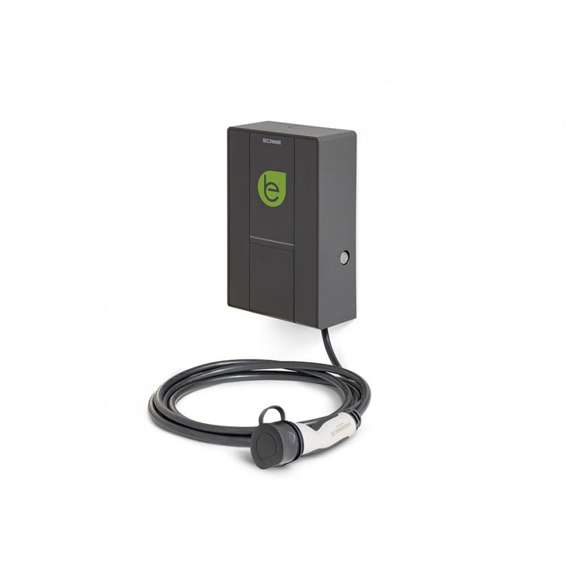 Cargador Coche Eléctrico Monofásico 7.4 kW y Cable Mennekes con Gestión de Usuarios SCAME 205.W73-S0