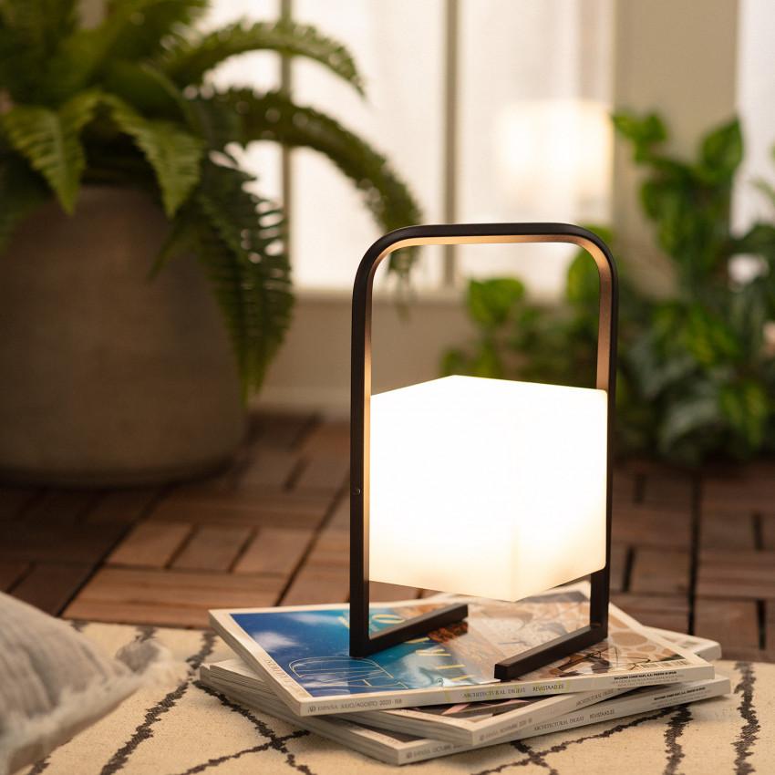 Lámpara de Mesa LED Solar Tiber