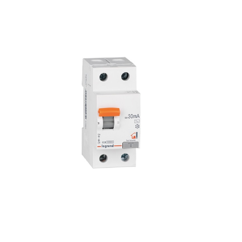 Interruptor Diferencial RX3 Residencial 2P 30mA Tipo AC 25-40 A LEGRAND 402056