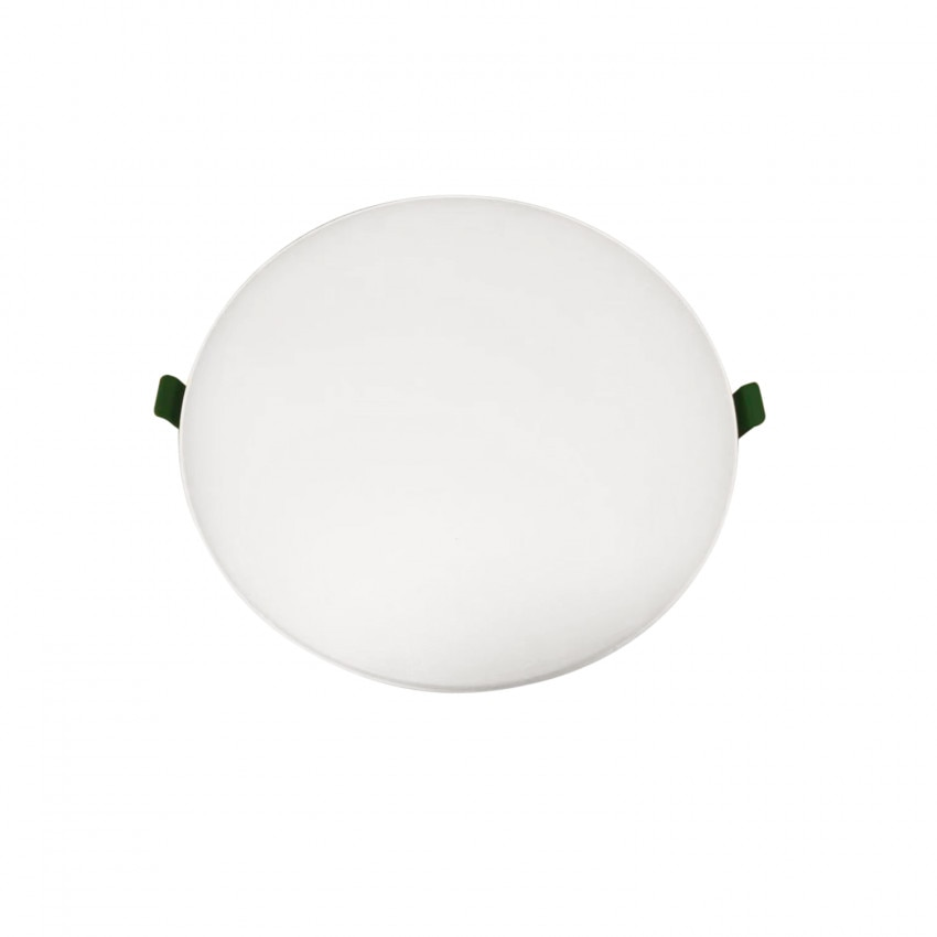Placa LED 24W CCT Seleccionable Circular Slim Surface (UGR19) Corte Ø200 mm IP54