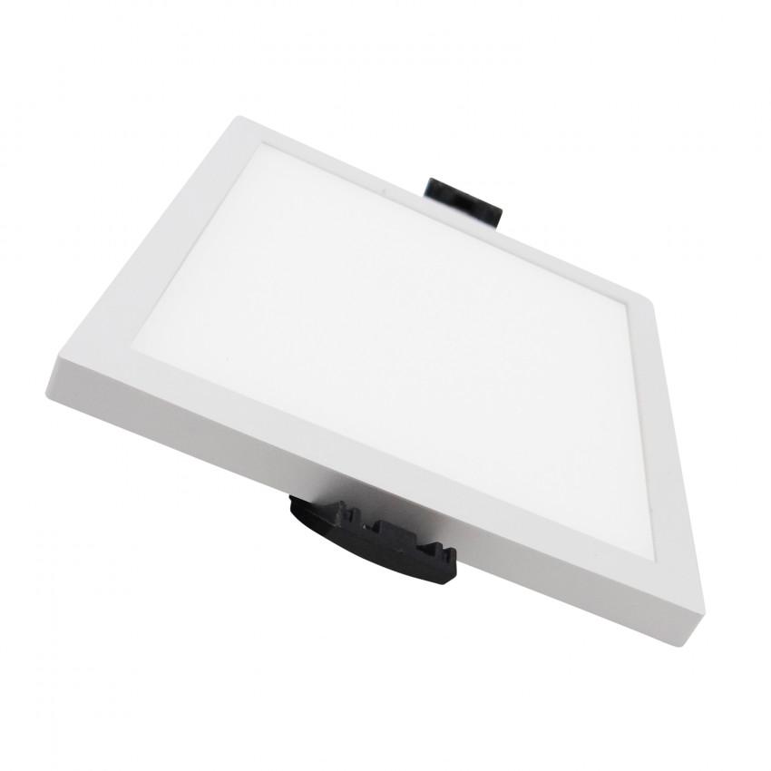 Placa LED 8W Cuadrada Slim Surface (UGR19) LIFUD Corte Ø75 mm
