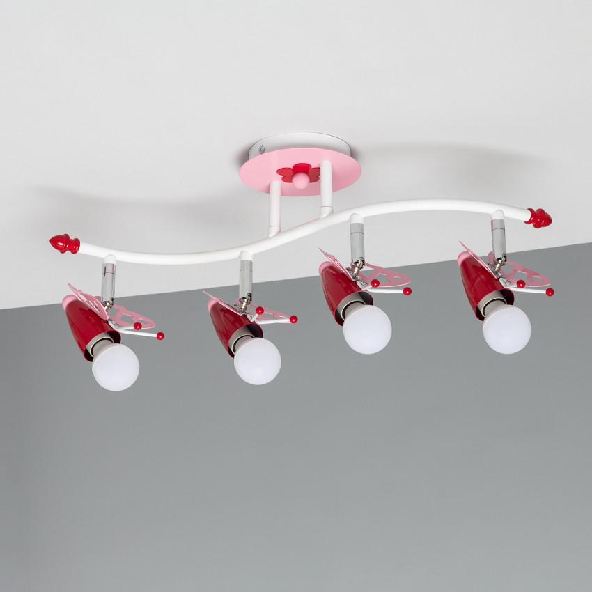 Aplique de Techo Infantil Papilio
