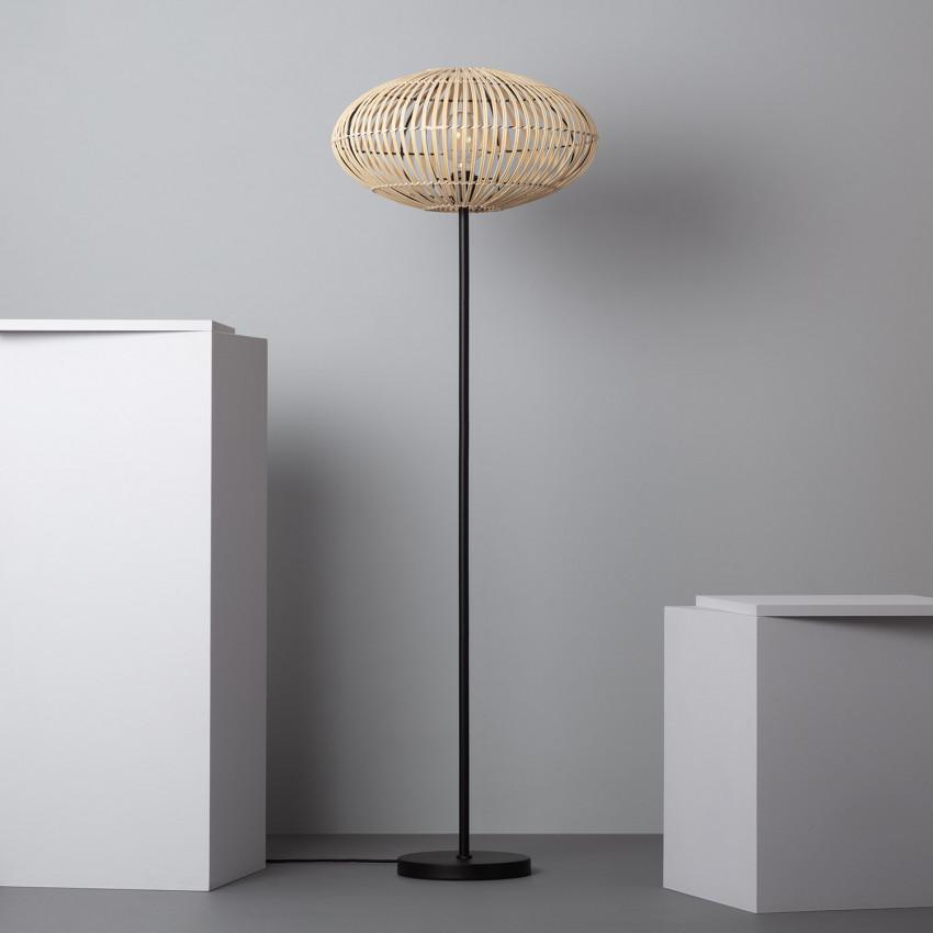 Lámpara de Pie Bambu Atamach
