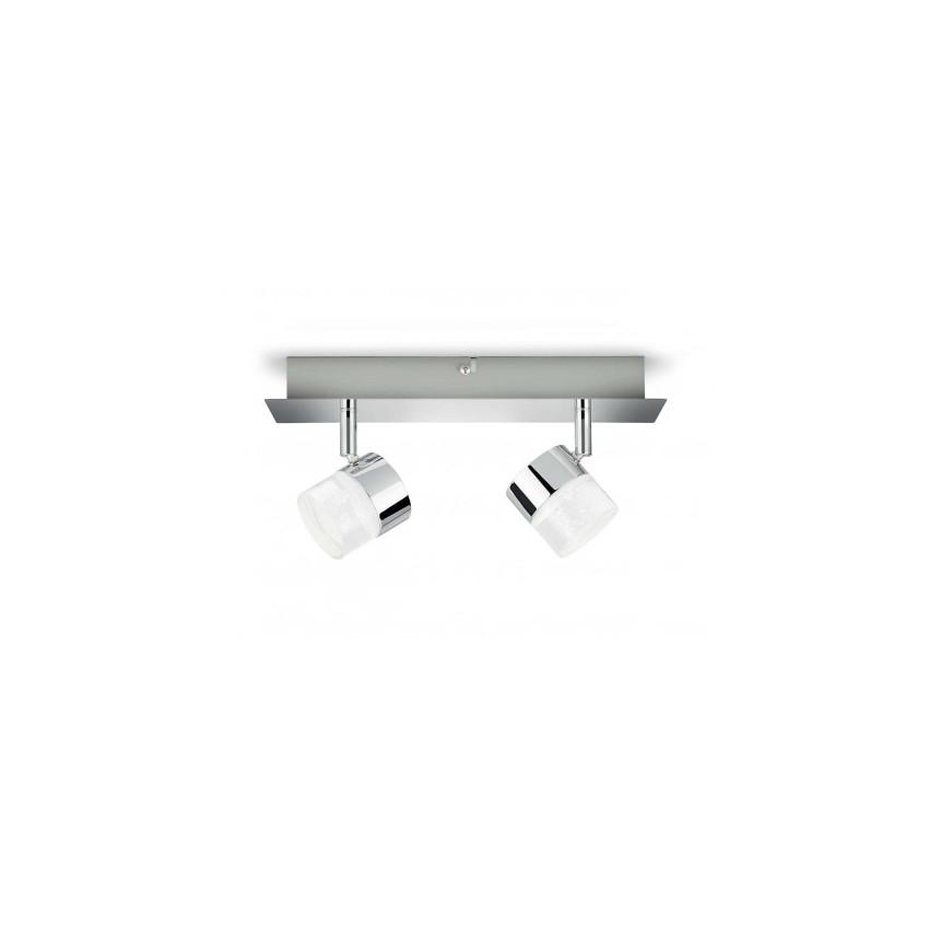 Lámpara de Techo LED con Dos Focos PHILIPS Float 2x5W