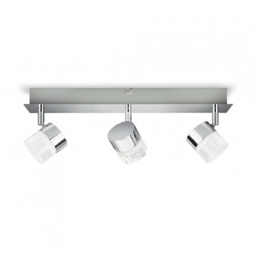 Lámpara de Techo LED con Tres Focos PHILIPS Float 3x5W