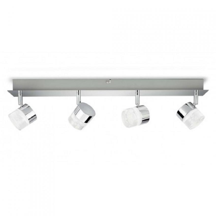 Lámpara de Techo LED con Cuatro Focos PHILIPS Float 4x5W
