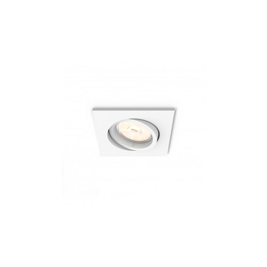 Foco Downlight Cuadrado PHILIPS Donegal Corte 70x70 mm