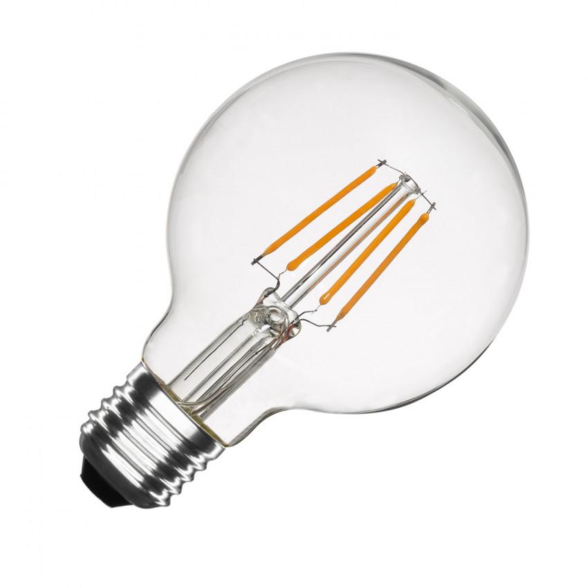 Lâmpada LED E27 Regulável Filamento Globo G80 6W