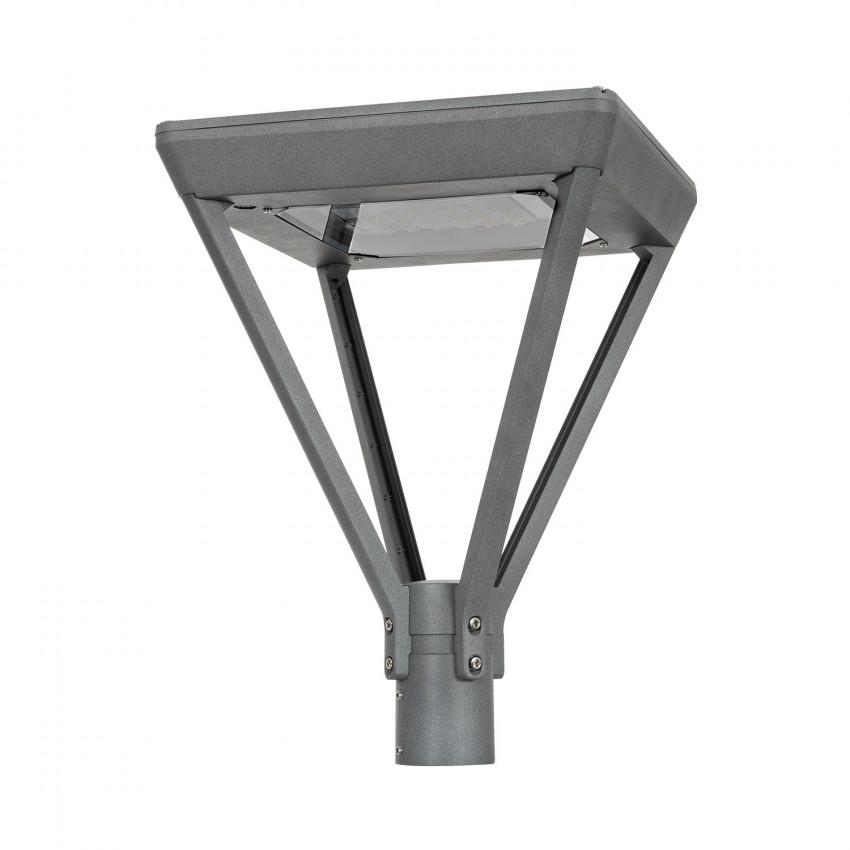 Luminária LED 40W Aventino Square LUMILEDS PHILIPS Xitanium Programável 5 Steps Iluminação Pública