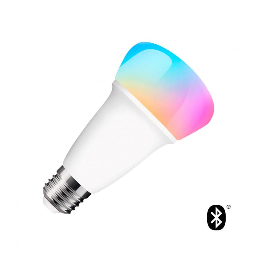Bombilla LED RGBW Bluetooth E27 Regulable Multicolor 9W