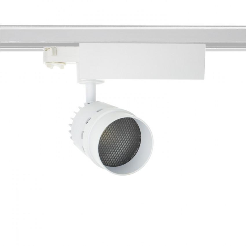 Foco LED CREE Cannon Blanco 20W para Carril Trifásico (UGR 19)