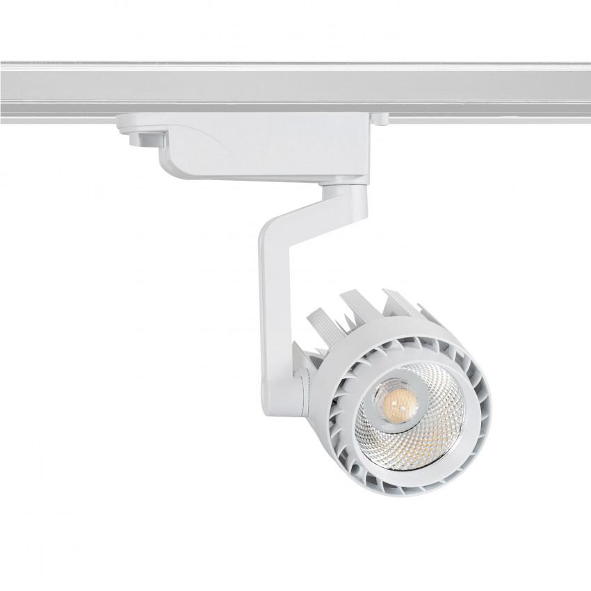 Foco LED Dora 30W Branco para Carril Monofásico