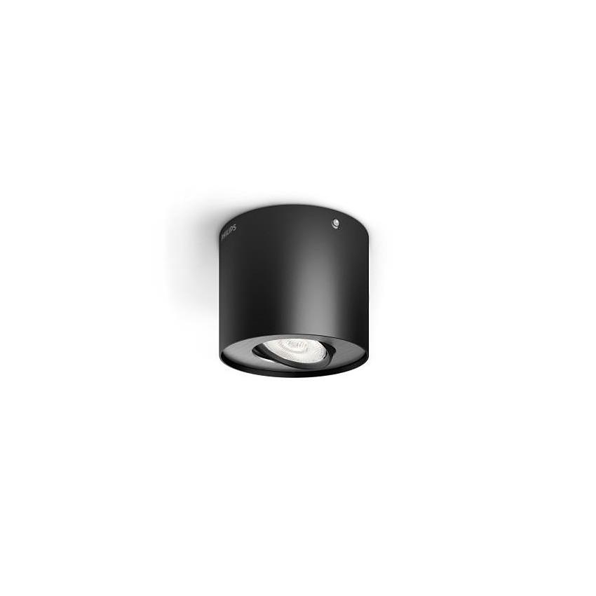 Aplique de Teto LED Regulável Duplo PHILIPS Phase 4.5W